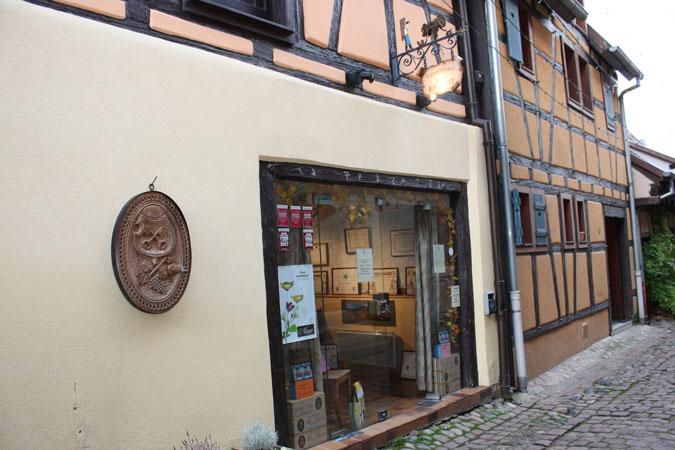 vins-alsace-henri-brecht - caveau-eguisheim
